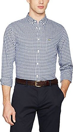 CH2293, Chemise Casual Homme, Rose (Nymphe/Blanc), 43 (Taille Fabricant : 43)Lacoste