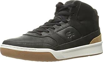 Lacoste Mens Explorateur Mid 316 2 Cam Fashion Sneaker, Black, 12 M US