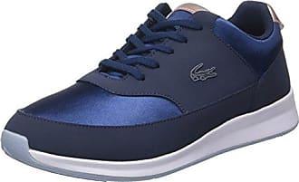 Lacoste L.12.12 117 1, Baskets Basses Femme, Bleu (NVY), 37.5 EU