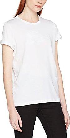 Lacoste TF3049, Camiseta para Mujer, Gris (Argent Chine CCA), 38 (Talla del Fabricante: 38)