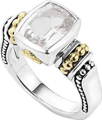 Lagos Caviar Color Faceted Ring, Size 7
