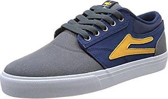 Lakai Camby Mid Oasis - Zapatillas de Skateboarding para Hombre, Color Schwarz (Black Textile), Talla 45