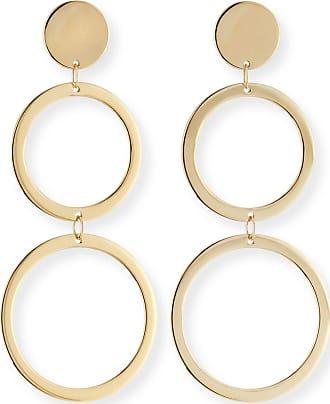 Lana Jewelry Fifteen 14k Double-Drop Earrings