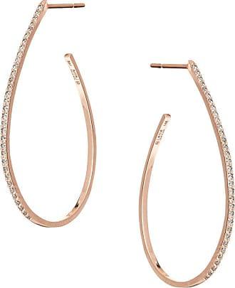 Lana Jewelry 14k Gold Short Stacked Bar Earrings w/ Diamonds
