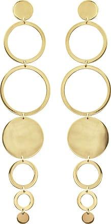 Lana Jewelry Multi-Circle Linear Drop Earrings