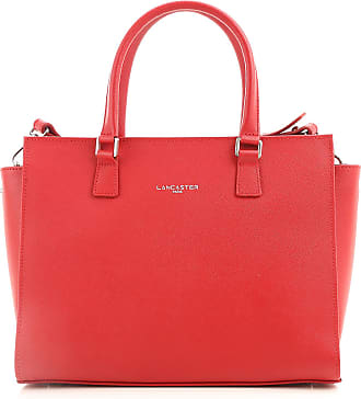 Top Handle Handbag On Sale, Red, Leather, 2017, one size Lancaster