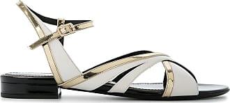 asymmetric strappy sandals - Multicolour Lanvin