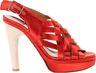 Pre-owned - Red Sandals Lanvin
