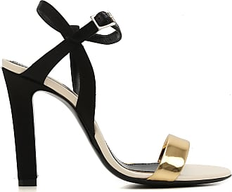 Lanvin Woman Chain-embellished Suede And Leather Sandals Ecru Size 35 Lanvin
