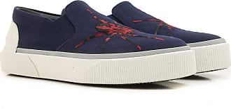 Slip on Sneakers for Men On Sale in Outlet, navy, Leather, 2017, 6 Lanvin