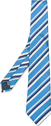 star print tie - Blue Lanvin