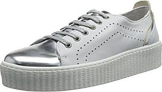 Laufsteg München FS161211 - Zapatillas Mujer, Color Blanco (White Silver), Talla 41