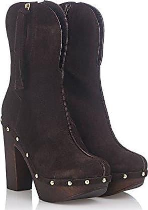 Laura Moretti Damen Swedish Nailed Shoes Clogs, Marrón, 40 EU