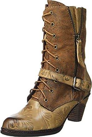 Laura Vita Damen Corine 01 Biker Boots, Braun (Camel), 36 EU