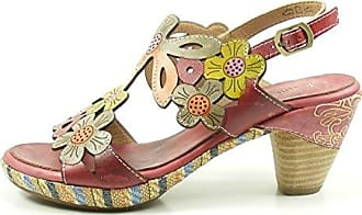Laura Vita SL976-20 Bernie 20 Schuhe Damen Sandaletten Sandalen, Schuhgröße:39;Farbe:Gold
