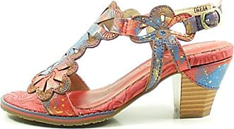Laura Vita SL16037-3 Dream 03 Schuhe Damen Sandalen, Schuhgröße:38;Farbe:Türkis
