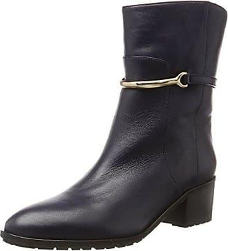 Schnurschuhe, Zapatos de Cordones Brogue para Mujer, Rojo (Bordeaux 570), 40 EU Laurel