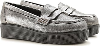 Loafers for Women On Sale, Alluminium, Leather, 2017, 2.5 L'autre Chose