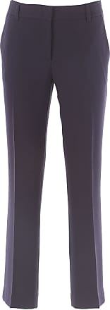 Pants for Women On Sale, Midnight, Wool, 2017, 26 28 30 32 L'autre Chose