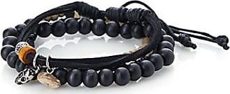 Le 31 Cord and bead four bracelet set
