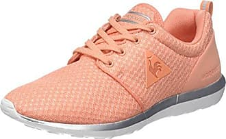 Le COQ Sportif LCS R600 W Metallic Mesh/S Nubuck, Zapatillas para Mujer, Rosa (English Rose/Old SIL Rose), 39 EU