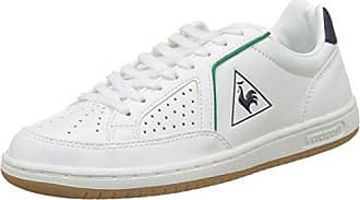 Le Coq Sportif Gaspar Leather Low, Sneakers Basses Homme - Blanc (Bright White), 40