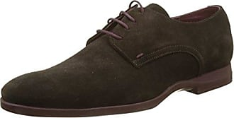 TARN5, Zapatos de Cordones Derby para Hombre, Marrón (Amande Ae), 42 EU Le Formier