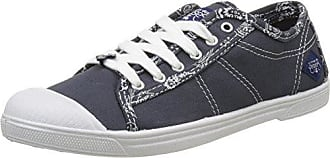 Le Temps des Cerises Damen Basic 02_Femme Sneaker, Blau (Bandana Navy Bandana Navy), 37 EU