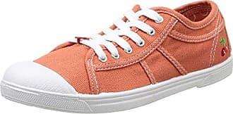 Le Temps des Cerises LTC Basic 02, Damen Sneaker, Rot - Rot - Rouge (Sienne) - Größe: 37
