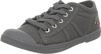 Basic 02_Gris (Grey Charcoal) - Zapatillas de tela para mujer, color gris, talla 37 Le Temps Des Cerises
