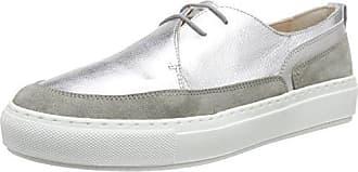 GRASSE, Sneakers Basses Femme - Gris - Grau (Grigio+Argento+Grigio), 38Lea Foscati