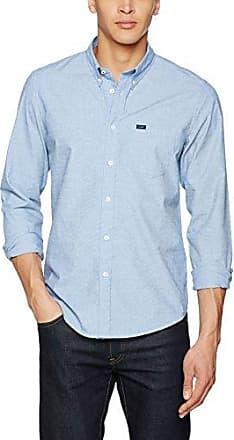 Rider, Camisa para Hombre, Blanco (White out), 37 cm (Talla del Fabricante: Small) Lee