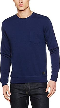 Plain SWS, Sudadera para Hombre, Azul (State Blue), XX-Large Lee