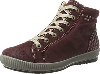 Womens Softboot Halb Hi-Top Trainers, Ematite Legero
