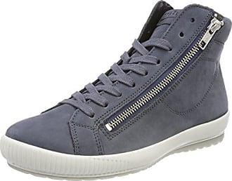 Campania, Zapatillas Altas para Mujer, Marrón (Asphalt 48), 38.5 EU Legero