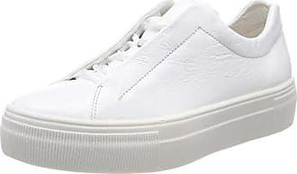 Legero Arno, Baskets Homme, Weiß (White), 45 EU