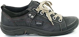 Schuhe Damen Halbschuhe Schnürschuhe Goretex Milano 3-00587, Schuhgröße:37.5;Farbe:Schwarz Legero