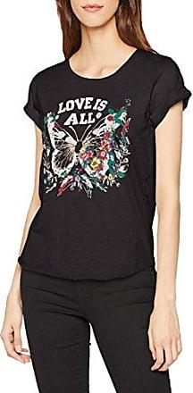 Blaumax Ester, Camiseta para Mujer, Gris (Anthracite 9120), 42 (Talla del Fabricante:Large)