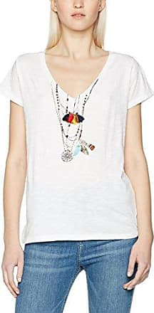 Trinidad, T-Shirt Femme, Blanc (White White), Medium (Taille Fabricant: M)Leon & Harper