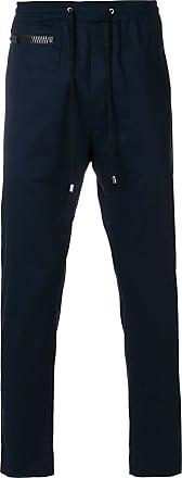 drawstring sweat pants - Blue Les Hommes