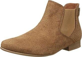 Les Tropéziennes par M Belarbi Alycia, Boots compensées femmeMarron (Camel), 38 EU