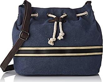 Womens Esc04-tz-blue Cross-Body Bag Blue Bleu (Blue) Les Tropeziennes
