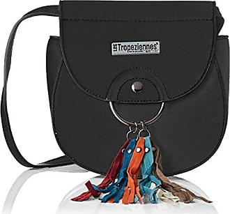 Womens Pyl04-tz-blue Cross-Body Bag Blue Bleu (Blue) Les Tropeziennes