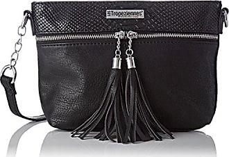 Tyr04, Womens Cross-Body Bag, Noir (Black), 11x18x30 cm (W x H L) Les Tropeziennes