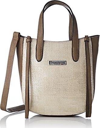 Womens Men04-tz-beige Cross-Body Bag Beige Beige (Beige) Les Tropeziennes