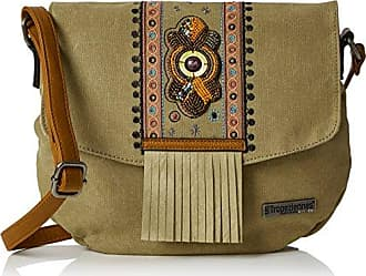 Womens Ser02-tz-beige Cross-Body Bag Beige Beige (Beige) Les Tropeziennes