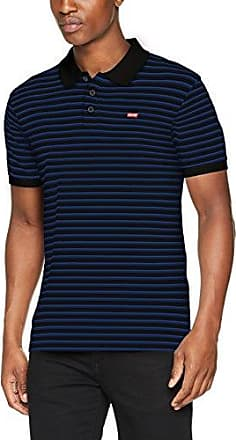 Levi's Housemark Polo, T-Shirt Homme, Noir (Pluck Stripe Puce/Black Beauty 59), Small
