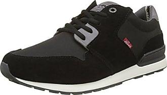 Levi's Turlock 2.0, Sneaker Uomo, Nero (Noir Regular Black), 45 EU