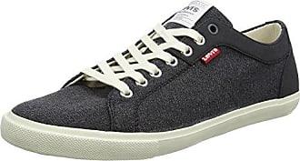 Woods Velcro, Baskets Hommes, Noir (Noir Regular Black), 41 EULevi's