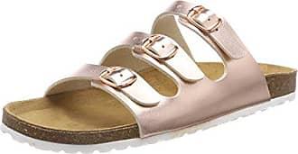 Lico Damen Bioline Shino Pantoletten, Pink (Rose), 37 EU